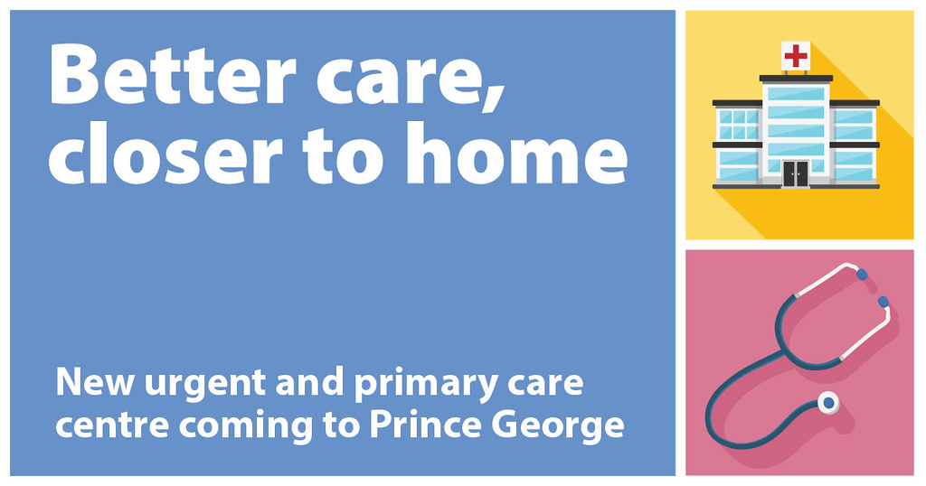 People in Prince George will soon have better access to team-based everyday health care, with the new Prince George Urgent and Primary Care Centre (UPCC) anticipated to open in June 2019 and the launch of a primary-care network (PCN).