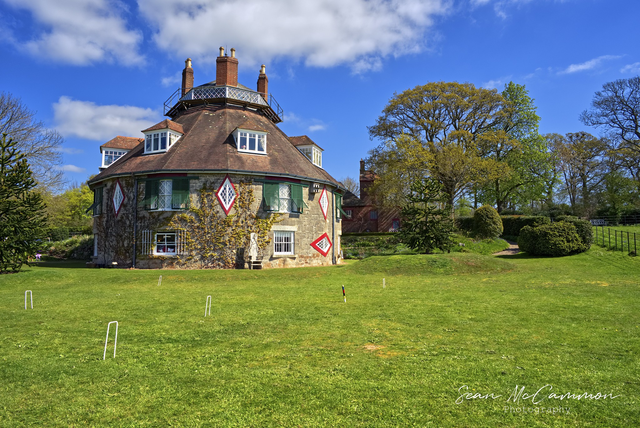 A la Ronde House From Garden