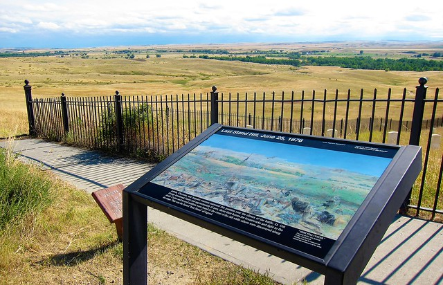 Last Stand Hill - Little Bighorn Battlefield National Monument ~ Crow Indiana Reservation Montana
