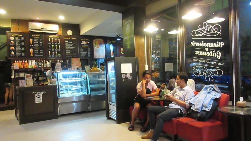 Vientiane excellent coffee shops