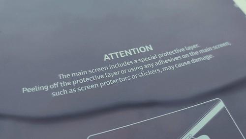 Galaxy Fold   Samsung ekrano katastrofa