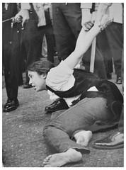 Arrest at American University protest: 1970
