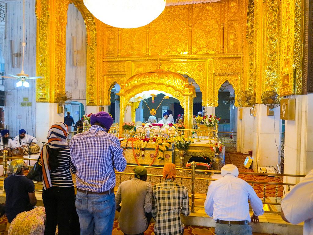 Gurudwara en Nueva Delhi