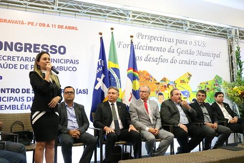 Solenidade de Abertura - XI Congresso de Secretarias Municipais de Saúde de Pernambuco