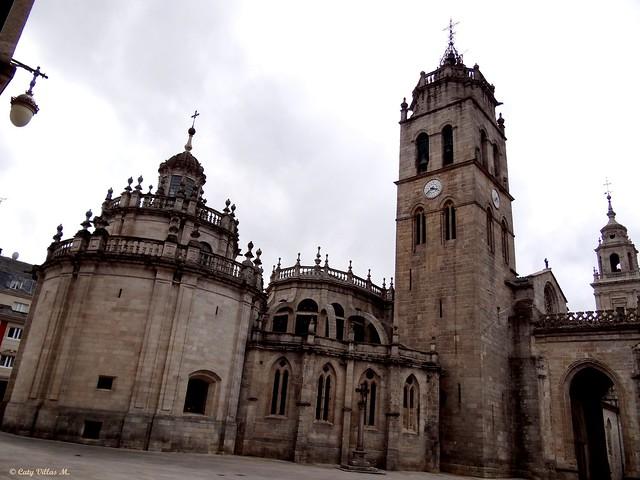 Lugo, España. Catedral.