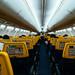 Interior of a Ryanair flight by wuestenigel