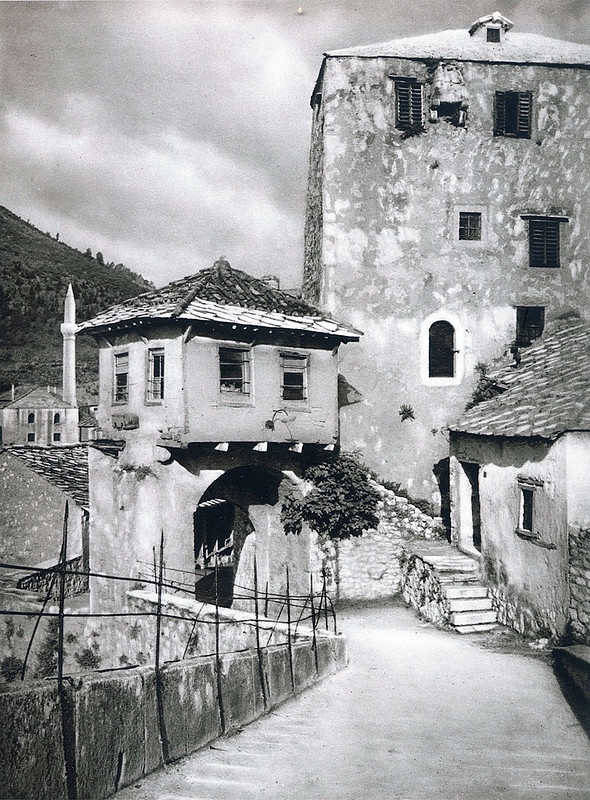 На Старом мосту в Мостаре