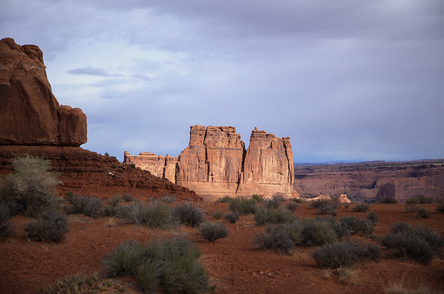 Arches National Park in South Eastern Utah 23