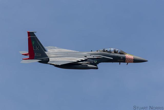 F-15E Strike Eagle 97-0219 - 492nd Fighter Squadron RAF Lakenheath