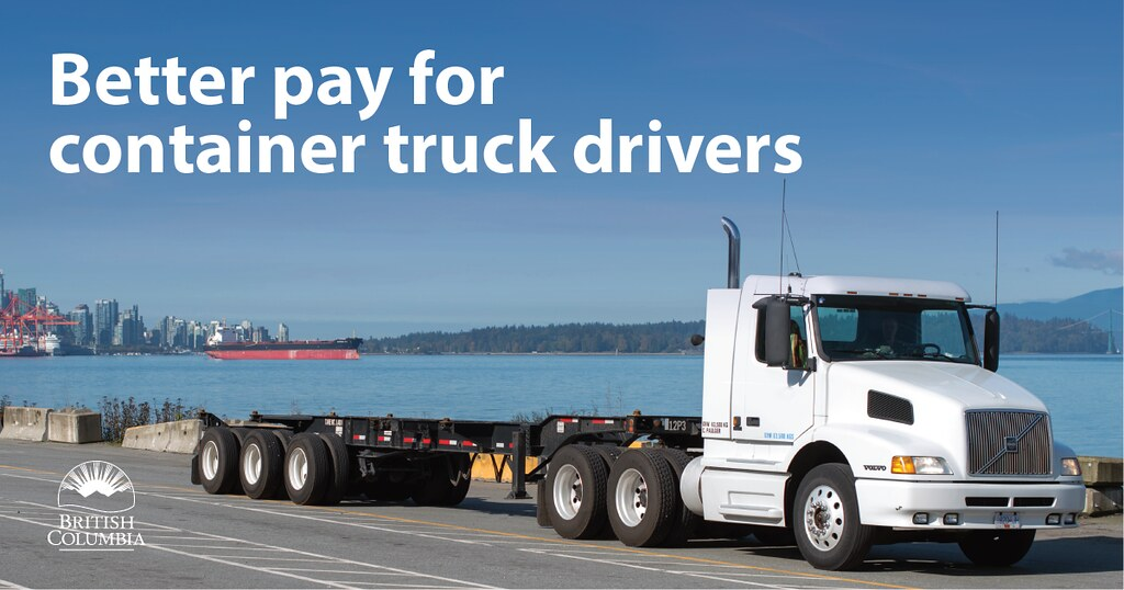 The British Columbia government is moving forward with several key actions that will benefit container truck drivers and the sector, both now and into the future, creating a new phase in the relationship with the container truck industry in British Columbia.