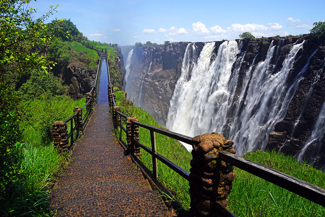 Knife Edge Bridge, Victoria Falls, Zambia