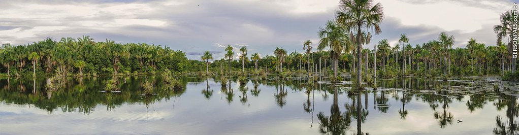 Lagoa das Araras em MT, próximo a Nobres.  Foto: Gerson Paes Fotografia