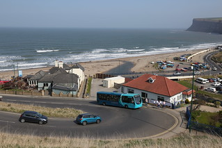 Arriva North East 1562 NK14GFA at Saltburn