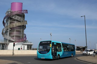 Arriva North East 1560 NK14GEU at Redcar