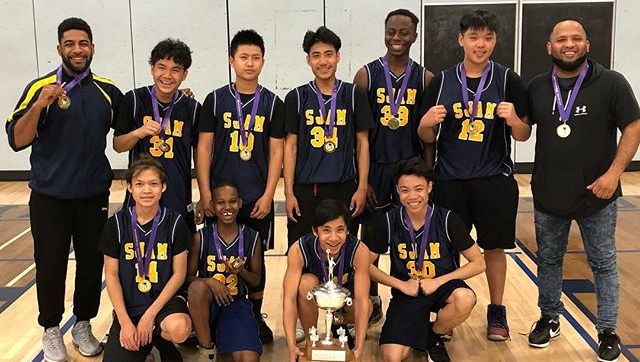 Sir John. A. Macdonald - Boys Grade 9 Basketball Champions