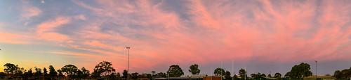 adelaide australia plympton sa southaustralia clouds dawn panorama sky urban