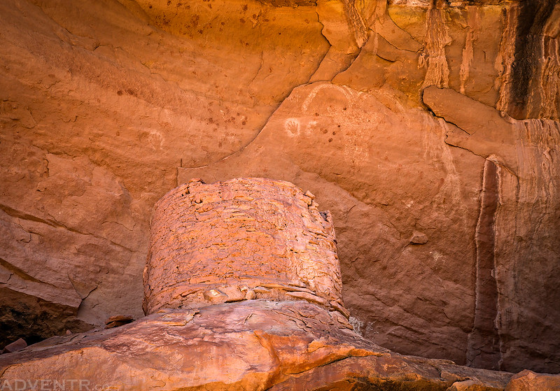 Round Ruin & Pictographs