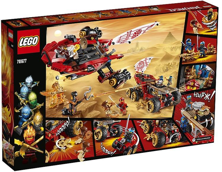 LEGO Ninjago Land Bounty 70677-02