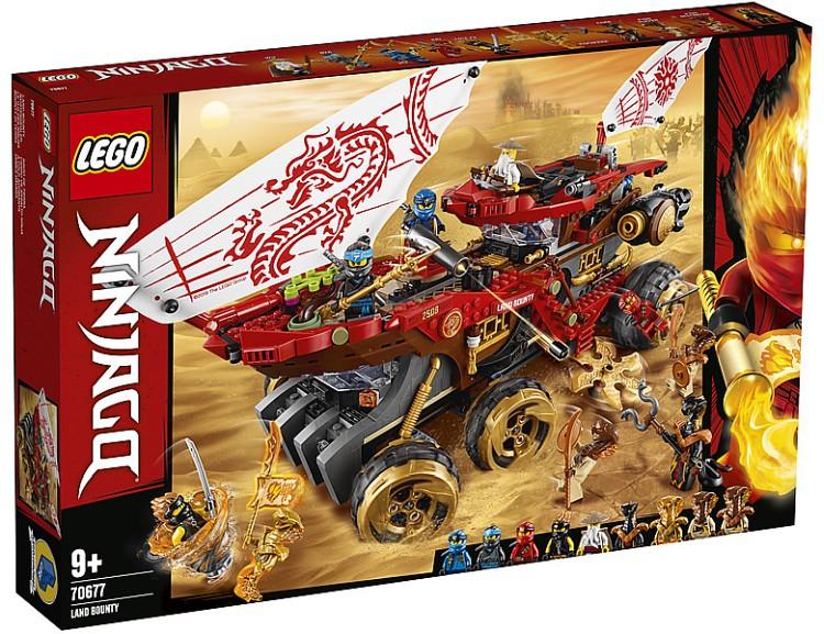 LEGO Ninjago Land Bounty 70677-01