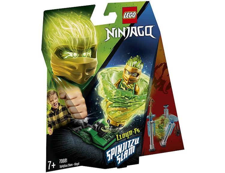 LEGO Ninjago Spinjitzu Slam Lloyd 70681-01