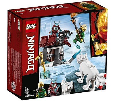 LEGO NINJAGO FORBIDDEN ICE EMPEROR MINIFIGURE 70678 FORSAKEN CASTLE GENUINE