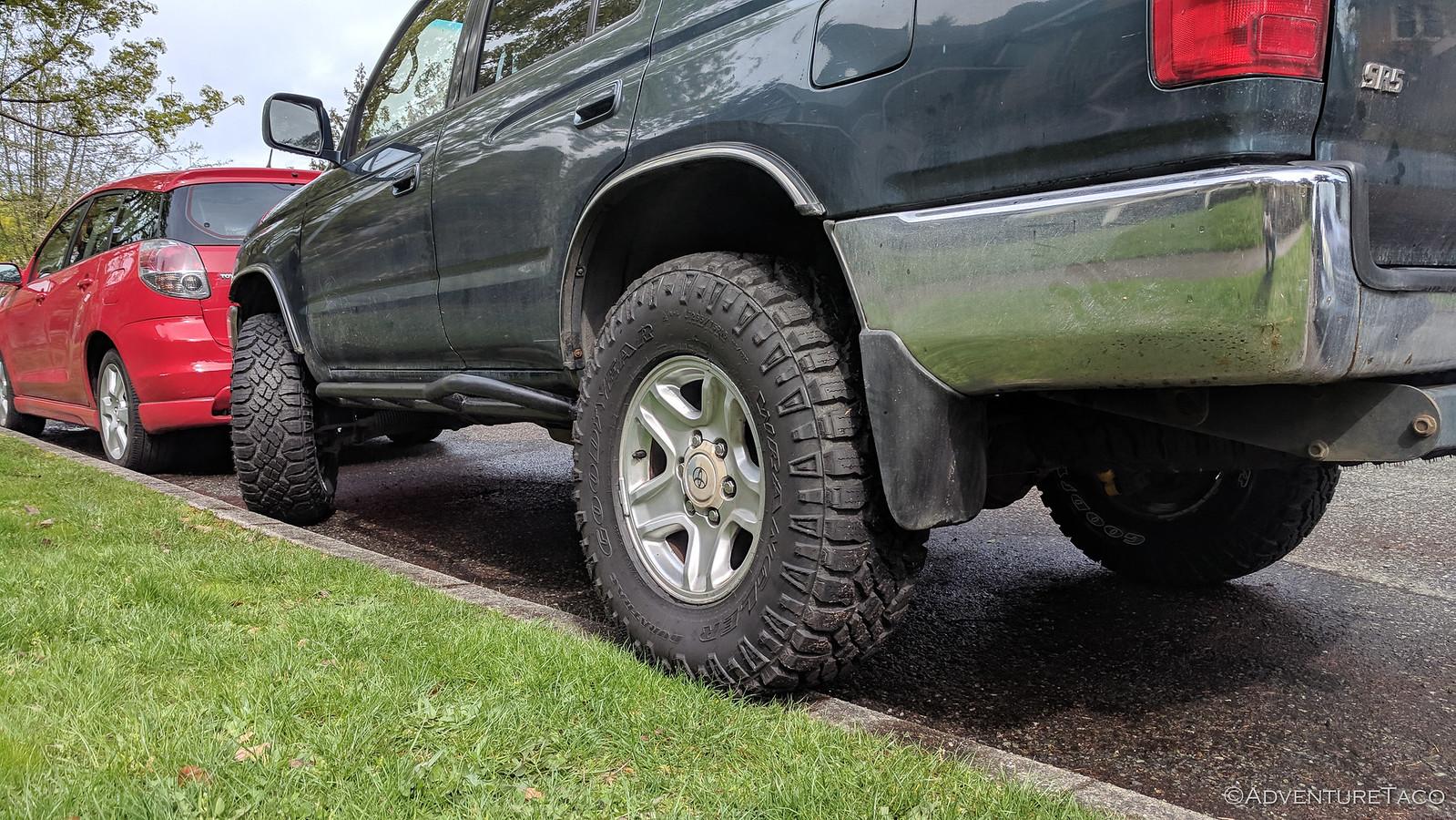 5-spoke star wheels on 1997 4Runner