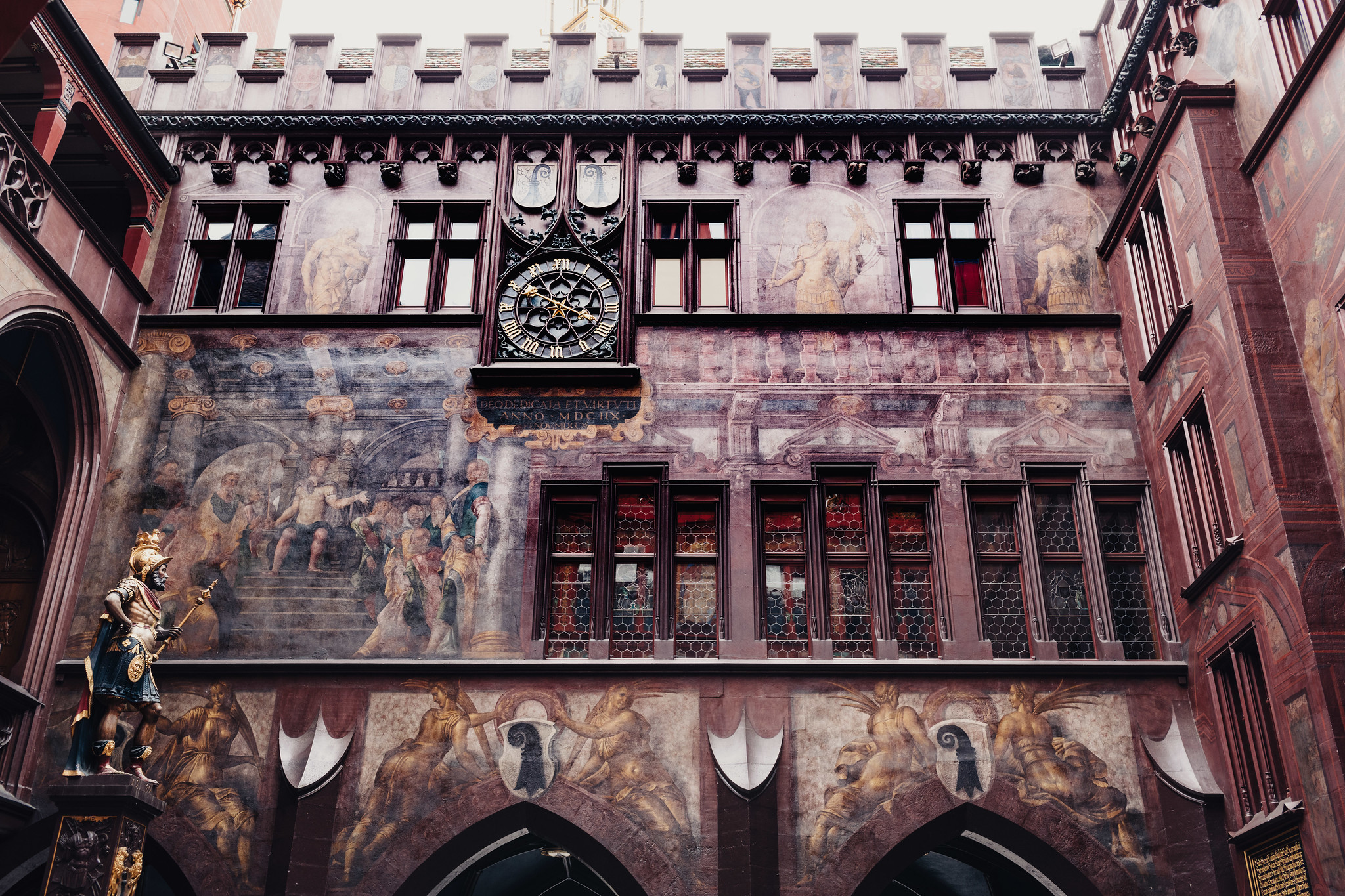 Inside Basel Town Hall
