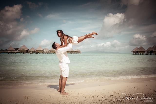 Zamy & Juan - The Moana - Bora Bora