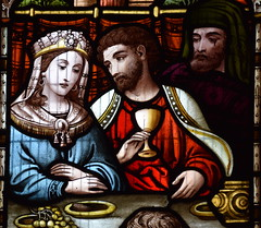 Marriage Feast at Cana (detail, Ward & Hughes, 1870s)