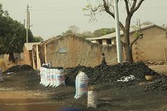 Charcoal, northern Ghana