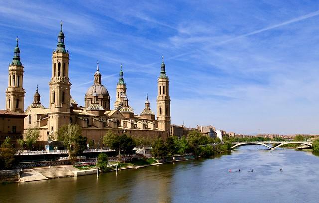 Basilica Nuestra Seńora del Pilar. Zaragoza, Spain