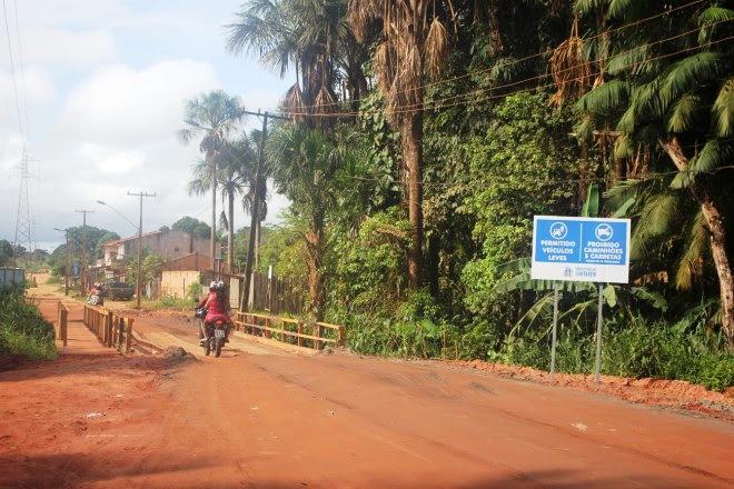 Ponte da Dom Frederico Costa é liberada para veículos até 10 toneladas, Ponte em Santarém