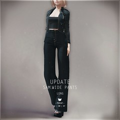 Sam.Wide Pants -  Long version added
