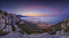Monaco Fog Summer Sunrise 2015