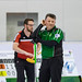 D.P. Sports Photographer posted a photo:	Curling player at European Curling Championships C-Division 2019 - ECCC2019 - Brasov 12-17 Aprilie 2019