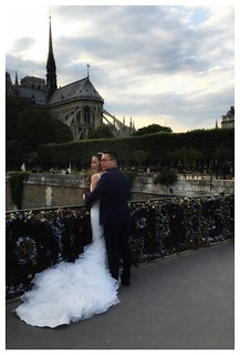 Notre Dame, Wedding & Love Locks | by rdc154