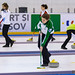 D.P. Sports Photographer posted a photo:Curling player at European Curling Championships C-Division 2019 - ECCC2019 - Brasov 12-17 Aprilie 2019