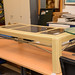 Large painted coffee table E50