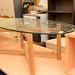 Oak family circular table E120