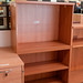Open from shelving unit
