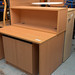 Beech reception desk E325