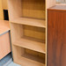 Med oak bookcase E110
