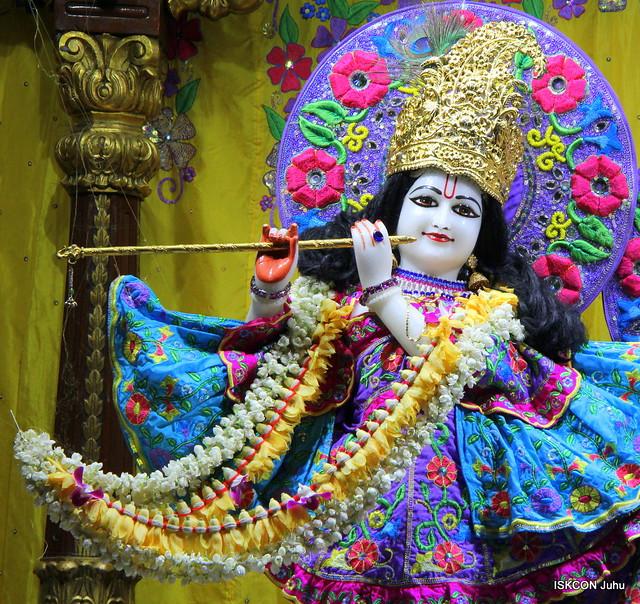 ISKCON Juhu Mangal Deity Darshan on 20th Apr 2019