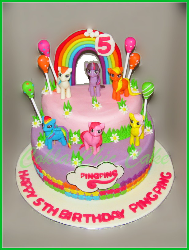 Cake My Little Pony PING PING 24 cm