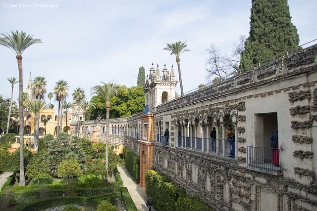 Sevillan Alcázar, Espanja