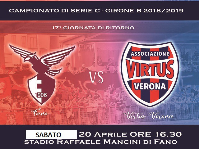 Alma Fano - Virtus Verona 1-1 FINALE