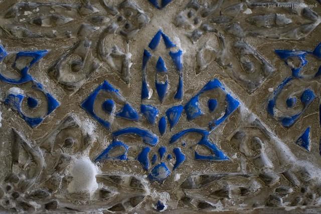 Koristeluja Sevillan Alcázarissa
