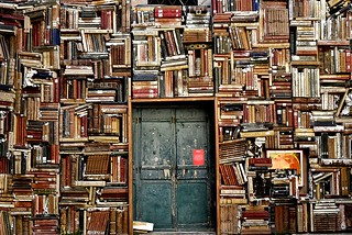 bibliotaph wall of books