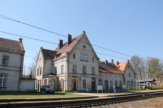 Station building , Rybnica train sttaion 19.04.2019