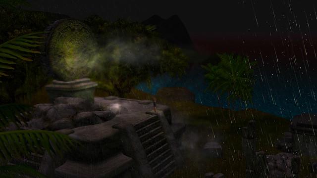A visitation in the dark of night